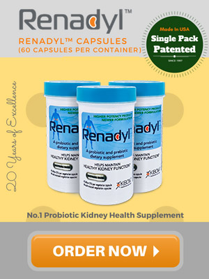 Renadyl Single Bottle - Kidney Health